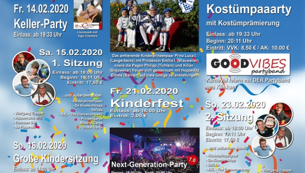 Session 2019/2020 - Unser Flyer